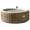 "Intex Whirlpool Pure SPA 77"" Bubble Massage, Braun, Ø 196 x 71cm -"